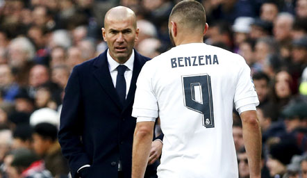Zidane trajneri i vitit në La Liga