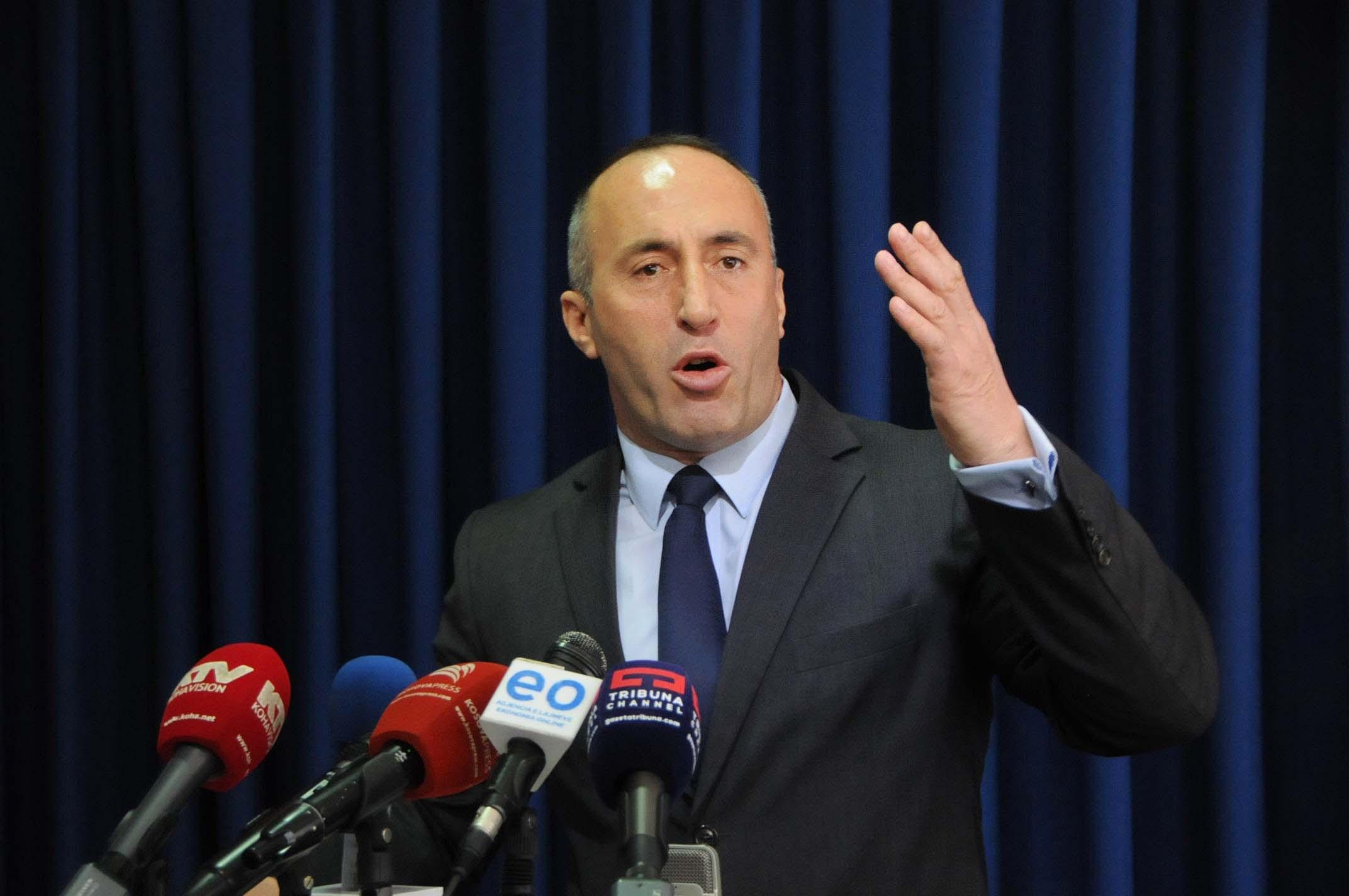 Haradinaj  Që kur vajza e Rugovës e votoi Thaçin për president  nuk ka më standarde në politikë
