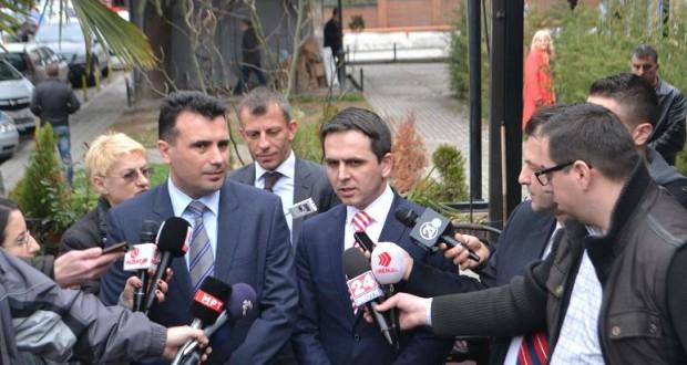 Zaev flet rreth platformës shqiptare dhe formimin e qeverisë së re