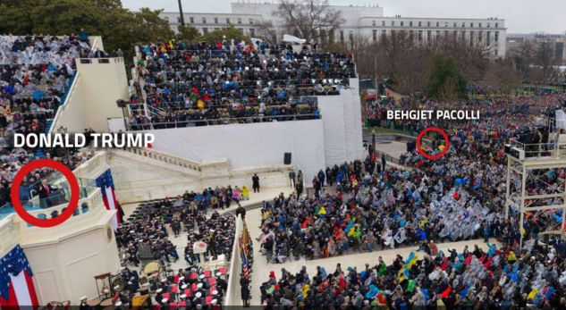 A ishte Pacolli shqiptari që ishte më afër Trump në ditën e inaugurimit