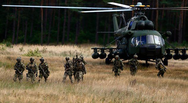 NATO e forcon prezencën baltike  mbërrijnë trupat e parë afër enklavës ruse