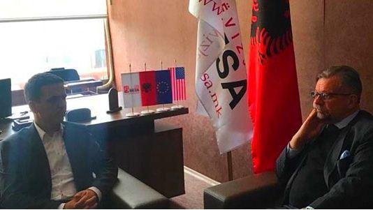 Kryetari i Lëvizjes BESA takon Ambasadorin e Suedisë