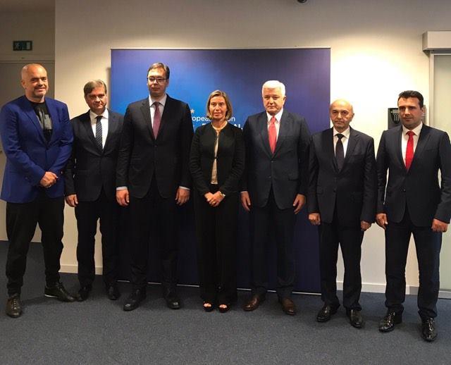 Çka kërkon Mogerini nga kryeministrat e Ballkanit Perëndimorë
