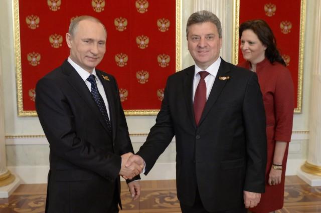Takimi Ivanov Putin  Të rrespektohet kushtetuta e Maqedonisë