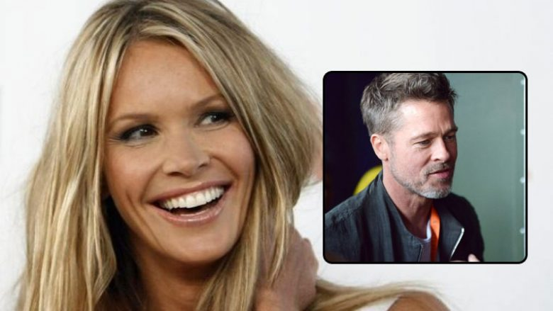 Pitt në romancë me modelen australiane