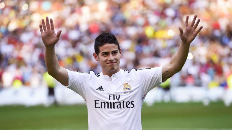 """Info Shqip: James: """"Vitet në Madrid? Ishte një ëndërr që dukej larg por u bë realitet."""""""