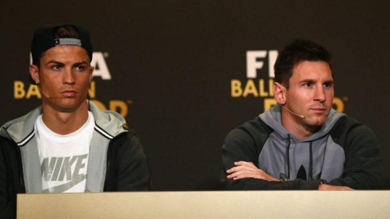 Info Shqip: Shikoni votimin e pabesueshëm të Messit dhe Ronaldos për lojtarin më të mirë