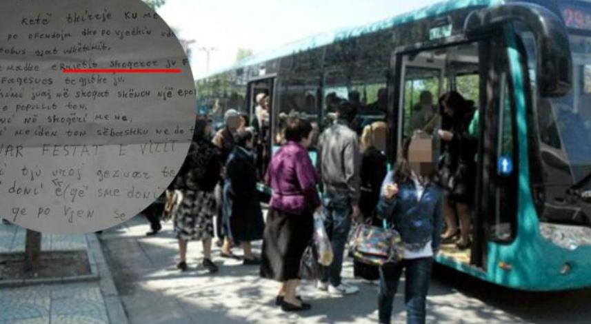 Gjendet një letër e çuditshme në autobusin e Tiranës