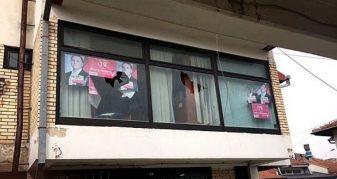 Info Shqip: Dëmtohet zyra e selisë së LSDM-së në Gostivar