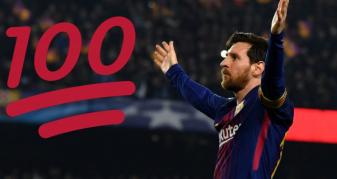 Info Shqip: Messi arriti 100 gola në Ligën e Kampionëve, këtë e bëri shumë më shpejt se Ronaldo