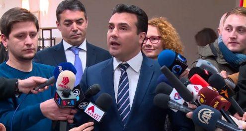 Info Shqip: Zaev: Republika Ilindenase e Maqedonisë është emri për të cilin mund të ketë marrëveshje (VIDEO)