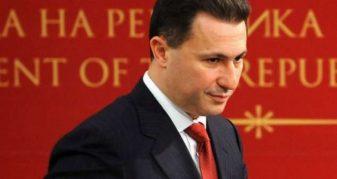Info Shqip: Gruevski: Nuk hidhërohem nga deklaratat e Talatit, nuk është për t'iu hidhëruar