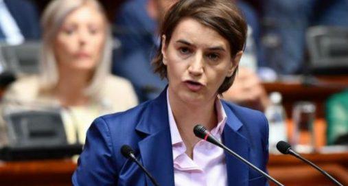 Info Shqip: Kryeministrja e Serbe: Nuk insistojmë dot më, Kosova nuk është Serbi