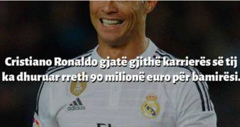 Info Shqip: 10 Fakte interesante që nuk i keni ditur për Cristiano Ronaldon