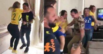 Info Shqip: Gëzimi i mbrojtësit Fagner dhe familjes së tij kur mësuan se ai do ta zëvendësojë Alvesin në 'Rusia 2018'