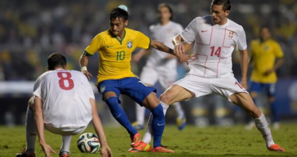 Info Shqip: Zhyti këshillë Brazilit: Nëse do 3 pikët të marrë futbollistë shqiptarë