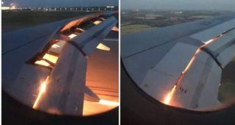 Info Shqip: Aeroplani i kombëtares arabe në botërorin e Rusisë përfshihet nga flakët (VIDEO)