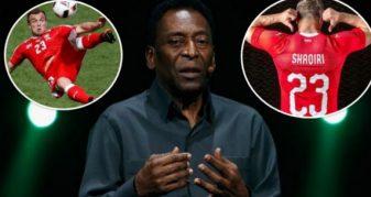 Info Shqip: Pele paralajmëron Brazilin: Shaqiri është i rrezikshëm