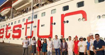 Info Shqip: Mbërrin në Durrës kroçera gjigande turke