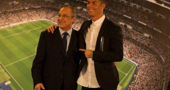 Info Shqip: Perez thyen heshtjen, zbulon arsyen e largimit të Ronaldos nga Real Madrid