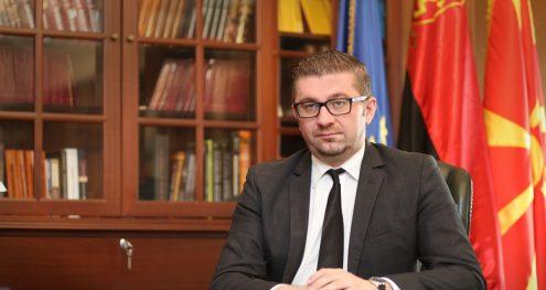 Info Shqip: Mickoski: Qytetarët të veprojnë sipas bindjeve të tyre, qëndrimin tim do ta shikoni më 30 shtator