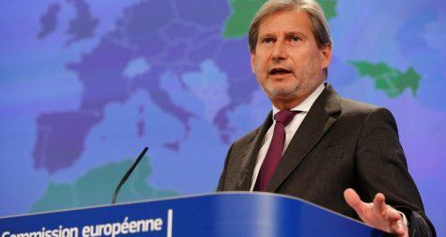 Info Shqip: Hahn nesër në Shkup, hap zyrtarisht skriningun për fillimin e bisedimeve me BE-në
