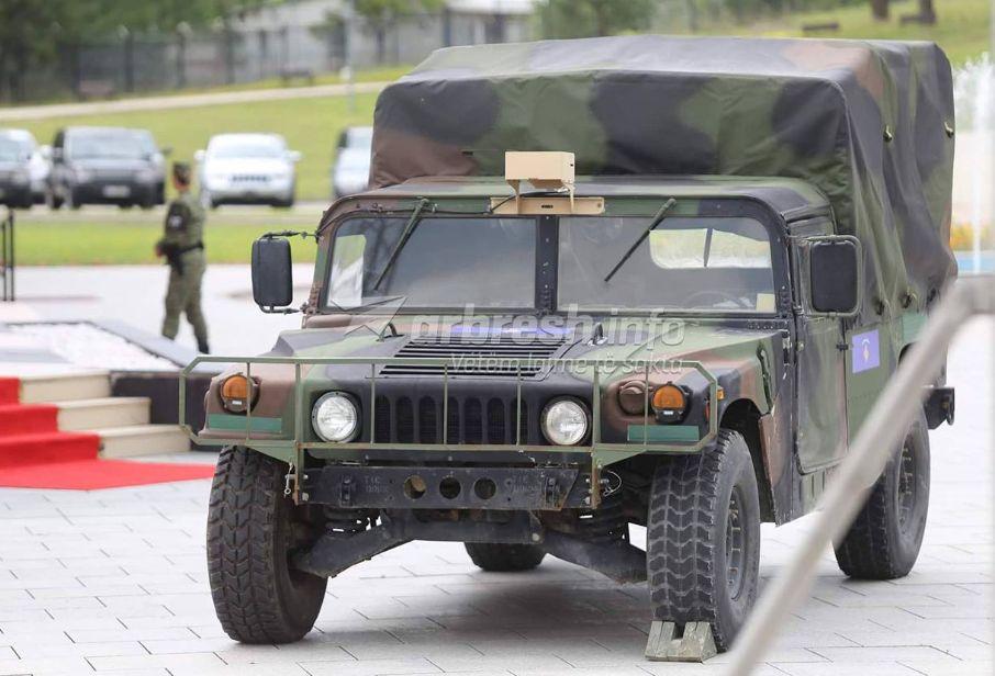 Shkundet  Serbia  armatosjen e FSK nga SHBA ja e quajnë armiqësi