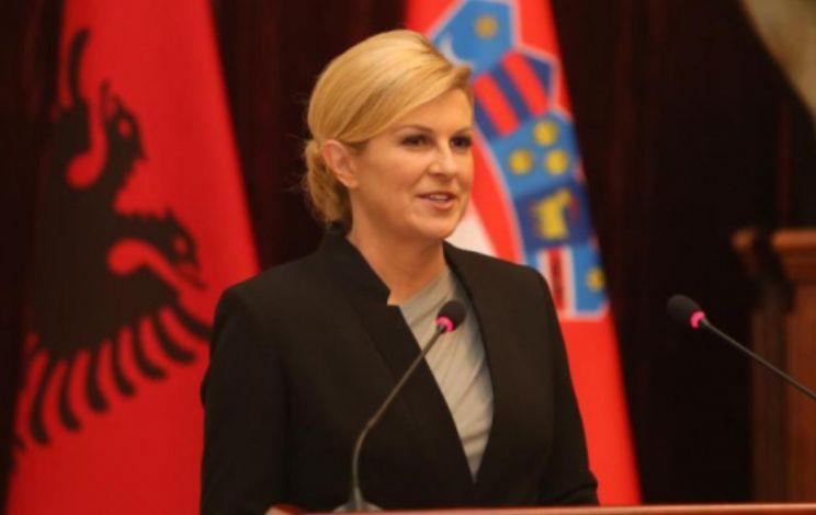 Deklarata e presidentes kroate se shqiptarët kanë luftuar për Kroacinë ngjall rreagime