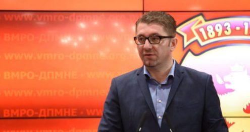 Info Shqip: MIckoski: Zaev të mos e poshtërojë veten, lapsi nuk puthet, puthet emri i vendin tënd