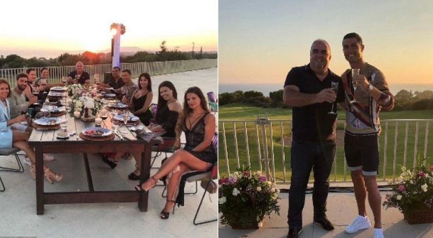 Ronaldo i len një bakshish të  majmë  hotelit në Greqi ku i kaloi pushimet me familjen  ja shuma
