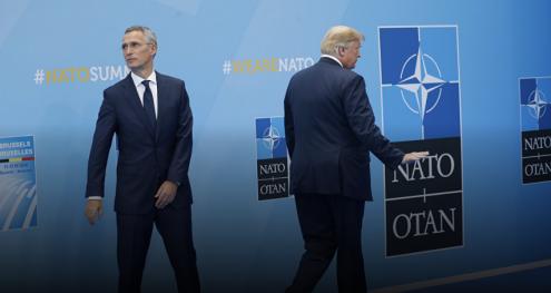 Info Shqip: NATO përkujton Trampin: Sulmi ndaj një anëtare është sulm ndaj të gjithëve