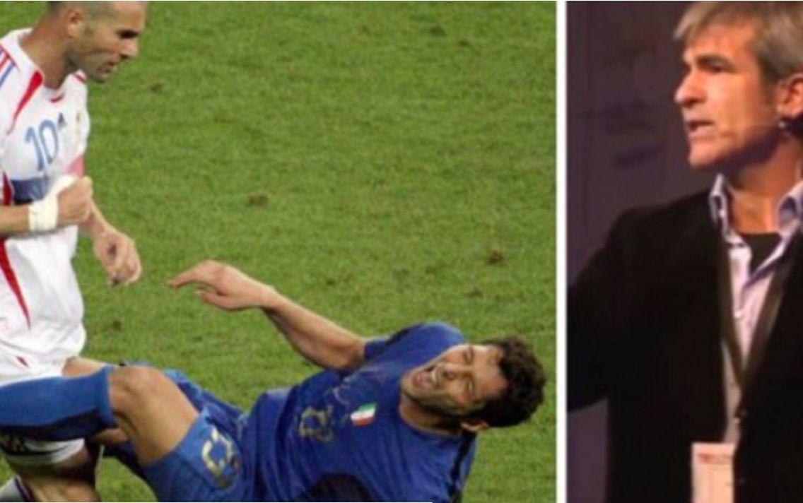Arbitri e tregon të vërtetën si e goditi me kokë Zidane Materazzin