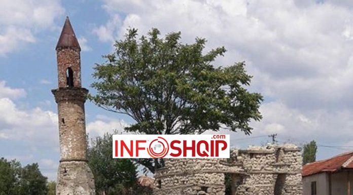 Xhamia e harruar nga BFI-ja në oborin e të cilës po ndërtohet kishë