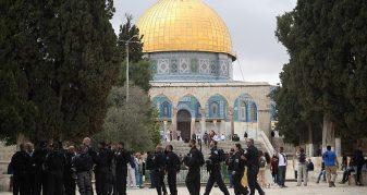Info Shqip: Me dhjetëra hebrenj radikalë hynë në oborrin e xhamisë Al-Aksa