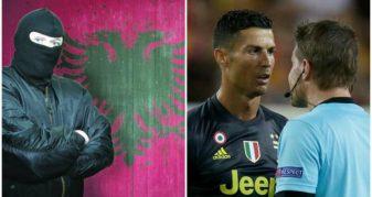 """Info Shqip: Serbët çmenden totalisht: """"Kartoni i kuq për Ronaldon ishte komplot nga shqiptarët"""" (FOTO)"""