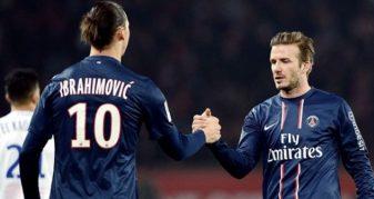 Info Shqip: Përgjigja spektakolare e Ibrahimovicit ndaj mesazhit të Beckhamit