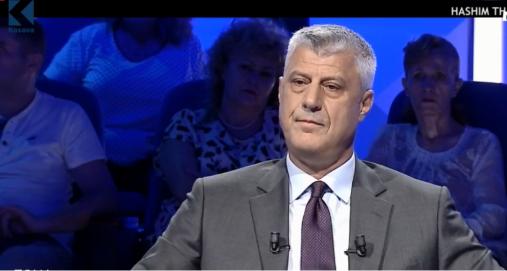 Info Shqip: Thaçi trillon përsëri: 90% e Qeverisë dhe 80% e popullit e përkrahin ndarjen e Kosovës