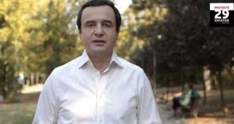Info Shqip: Kurti: Haradinaj më mirë të linte qeverisjen me ato 100 ditë