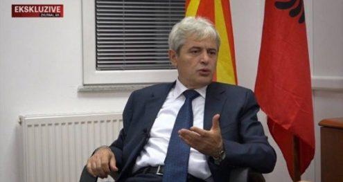 Info Shqip: Ahmeti: Rruga drejt NATO-s dhe BE-së rrugë njëdrejtimëshe