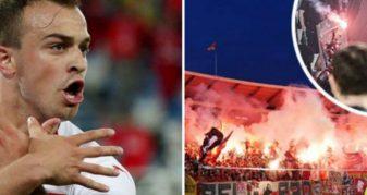 Info Shqip: Shaqiri kërcënohet nga drejtori i Crvena Zvezdës: Ja çka të pret po erdhe në Beograd