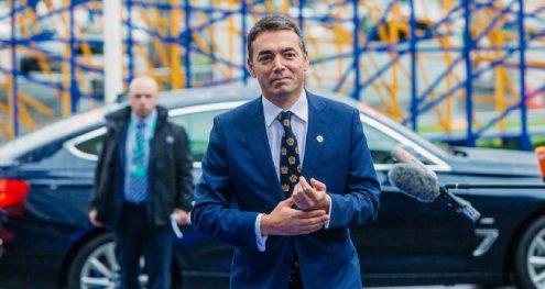 Info Shqip: Dimitrov: Maqedonia vendosi të ecë para