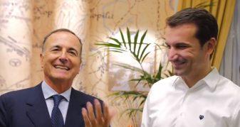 Info Shqip: Frattini habit Veliajn: Eja drejto bashkinë e Romës (VIDEO)