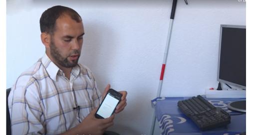 Info Shqip: Llapjani i verbër krijon aplikacione për telefonat e mençur (VIDEO)