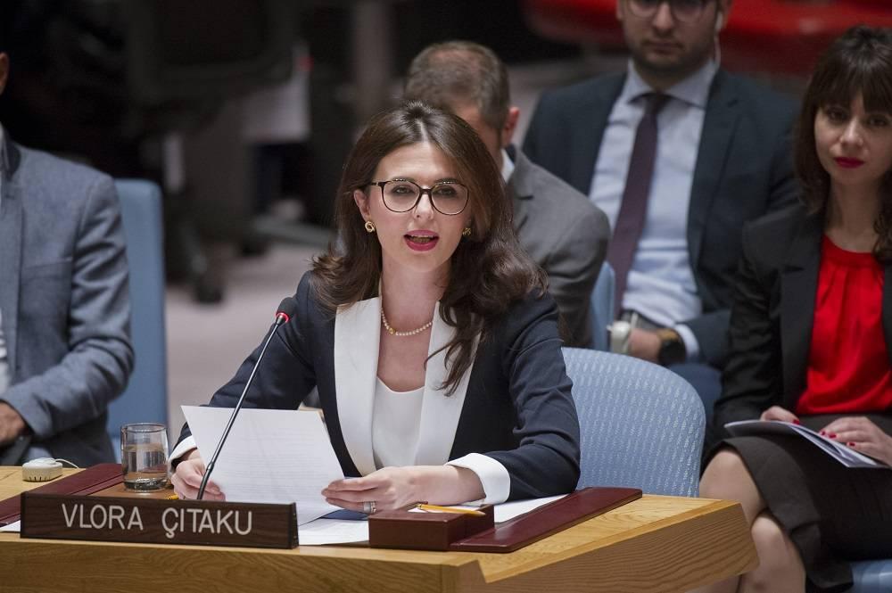 Fjalimi i fuqishëm i Vlora Çitakut në OKB për Kosovën