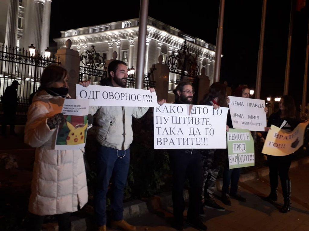 Protesta para Qeverisë me moton  Pa drejtësi nuk ka qetësi
