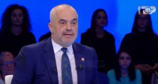 """Info Shqip: """"Ika unë Fevzo"""", Rama kërkon të braktisë emisionin (VIDEO)"""