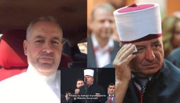 Hoxha Rexhail Aziri e godet Sulejman Rexhepin  Ku e ke Gruveskin që e  bllagosllovite  o  sulltan
