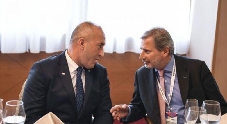 Taksa 100   komisioneri Hahn nuk i a ndërron dot mendjen Haradinajt