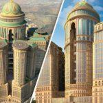 """Info Shqip: 10,000 dhoma, 70 restorante dhe katër """"pista"""" helikopteri: Në Mekë po ndërtohet hoteli më i madh në botë (FOTO)"""