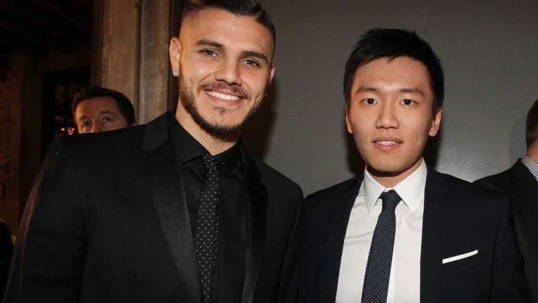 Info Shqip: Presidenti i Interit, Zhang: Icardi nuk ka asnjë shans të bashkohet me Juventusin